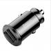 Baseus Grain Car Charger Mini Dual-USB Max 3.1A Φορτιστής Αυτοκινήτου (Black)